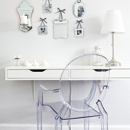 Bedroom Dressing Table | Victorian Flat In Edinburgh | House Tour | PHOTO  GALLERY | Style