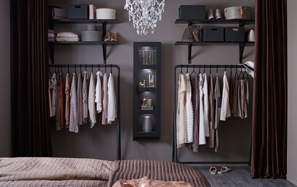 Fashionable Open Wardrobe To Simple Organizing Home Design And Interior Open Wardrobe Wardrobe Storage Open Closet