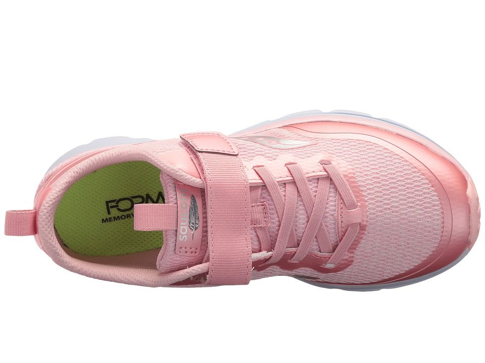 Saucony Kids Liteform Feel AC (Little Kid) Girls Shoes Pink