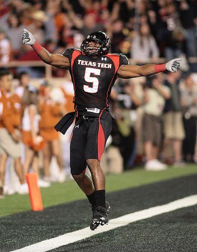 Pin on Favorite Texas Tech Football Players