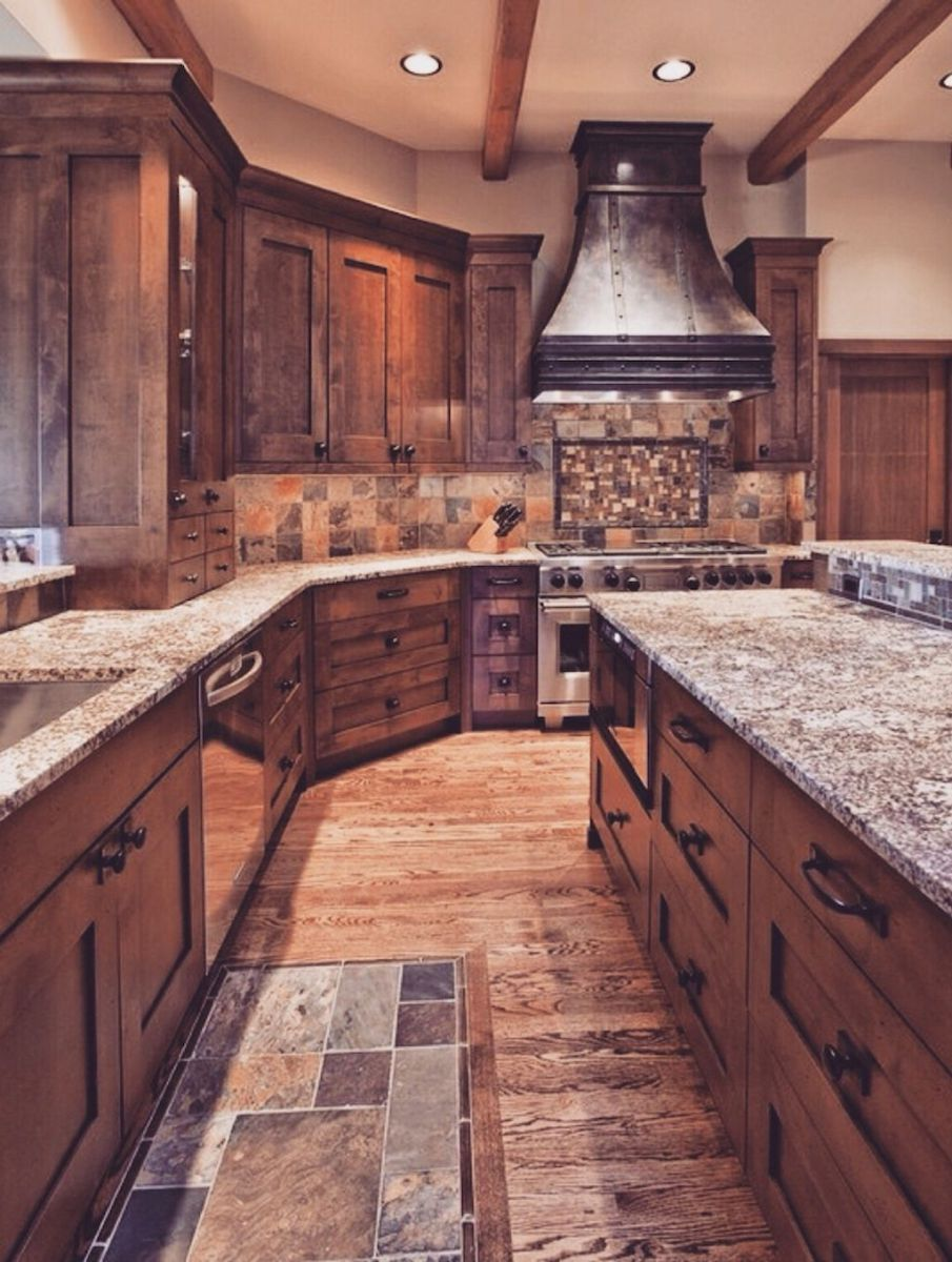 44 Wonderful Ideas To Design Your Rustic Kitchen 5 Kitchen Design Sweet Home Beautiful Kitchens