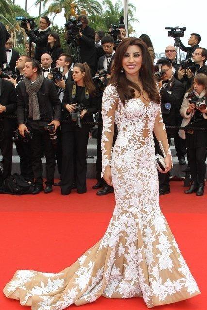 Robe de soiree de star arabe