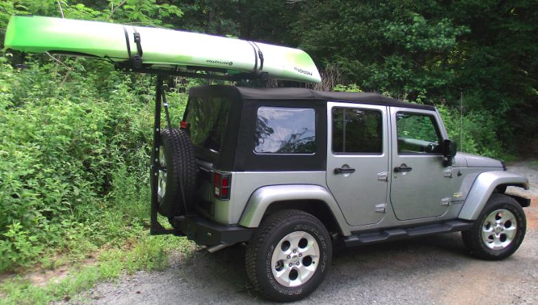 Amazing Kayak Jeep Kayak Rack Jeep Kayaking