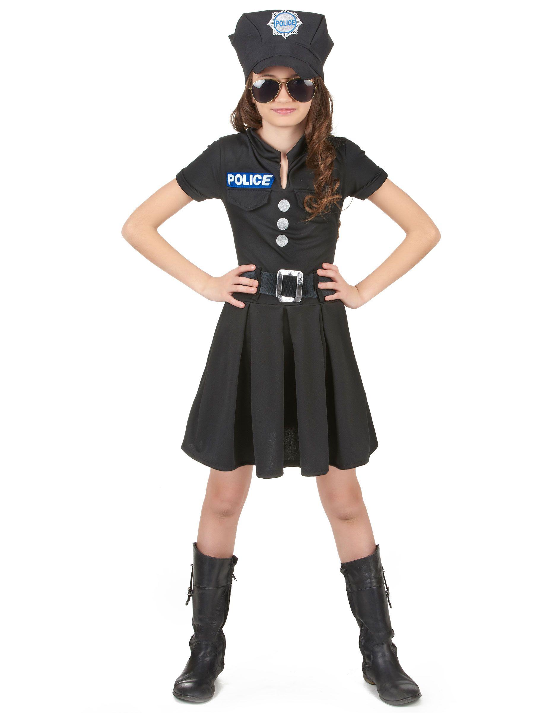 buona reputazione moda di lusso vendita online Costume da poliziotta bambina | costumi carnevaleschi nel ...