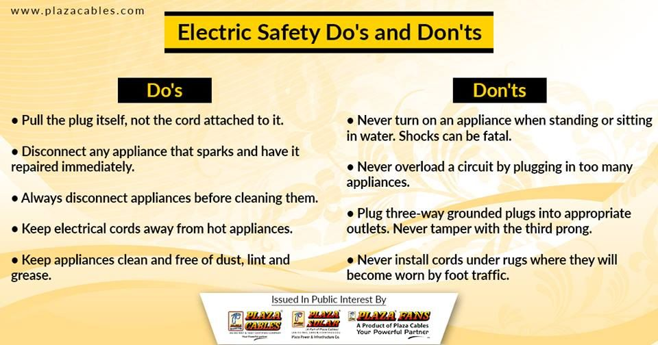 It only takes a few moments to make sure your electrical