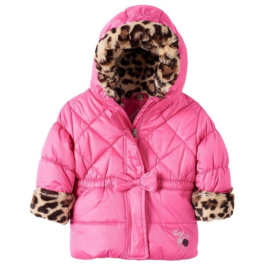 Details About New Toddler Girls Zeroxposur Quilted Puffer