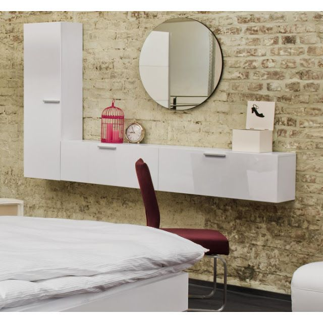modern dressing table ideas wall mounted