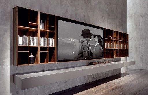 33 moderne tv wandpaneel designs und modelle freshouse ideen rund ums haus pinterest. Black Bedroom Furniture Sets. Home Design Ideas