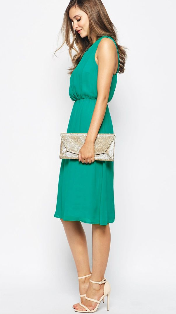 What to wear to a may wedding green wedding guest for Dresses for weddings guest summer