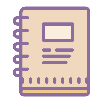 Notepad Icons In Cute Color Style For Graphic Design And User Interfaces Cute App App Icon Design App Icon