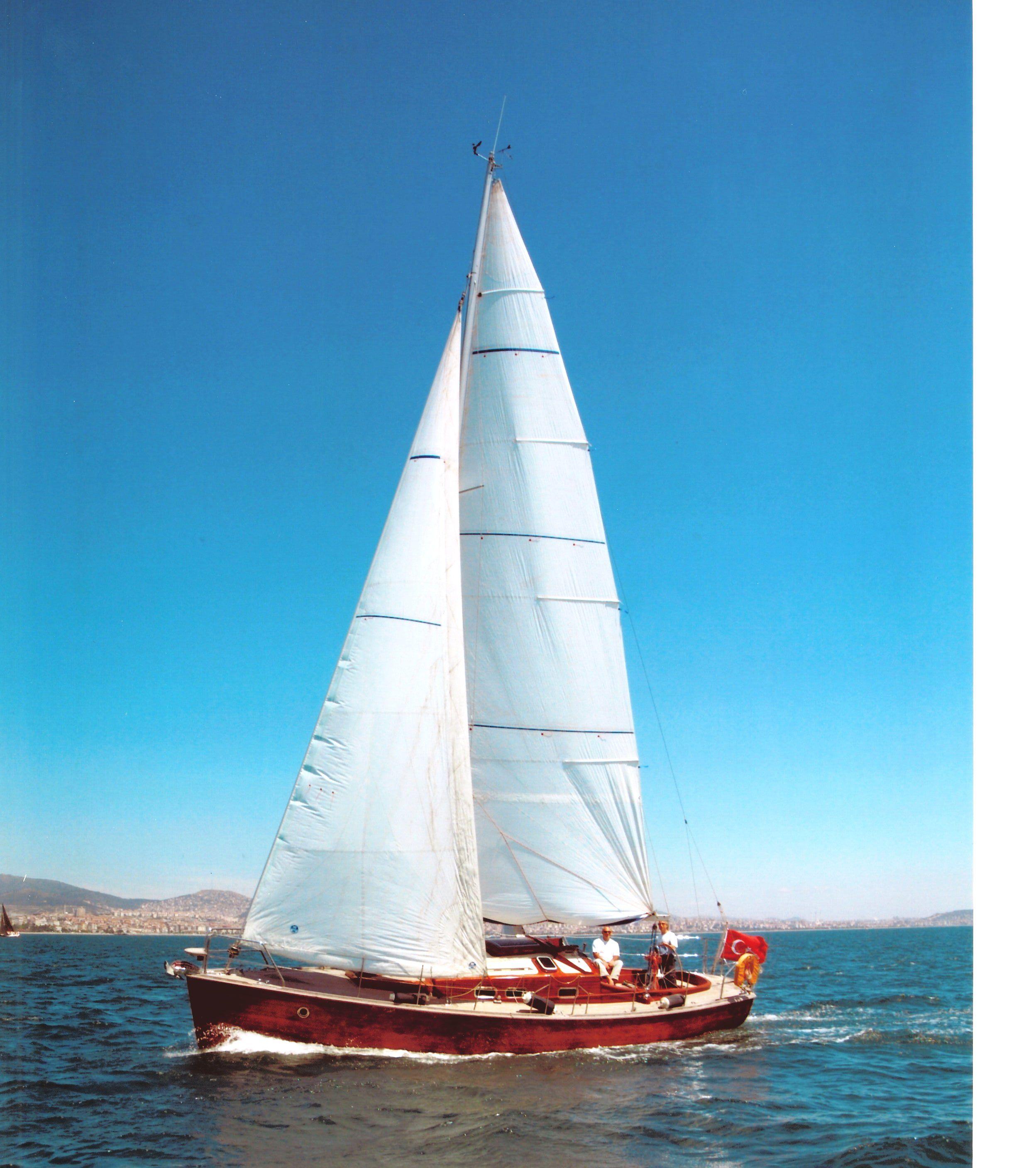 Фото яхты с парусами небольшие
