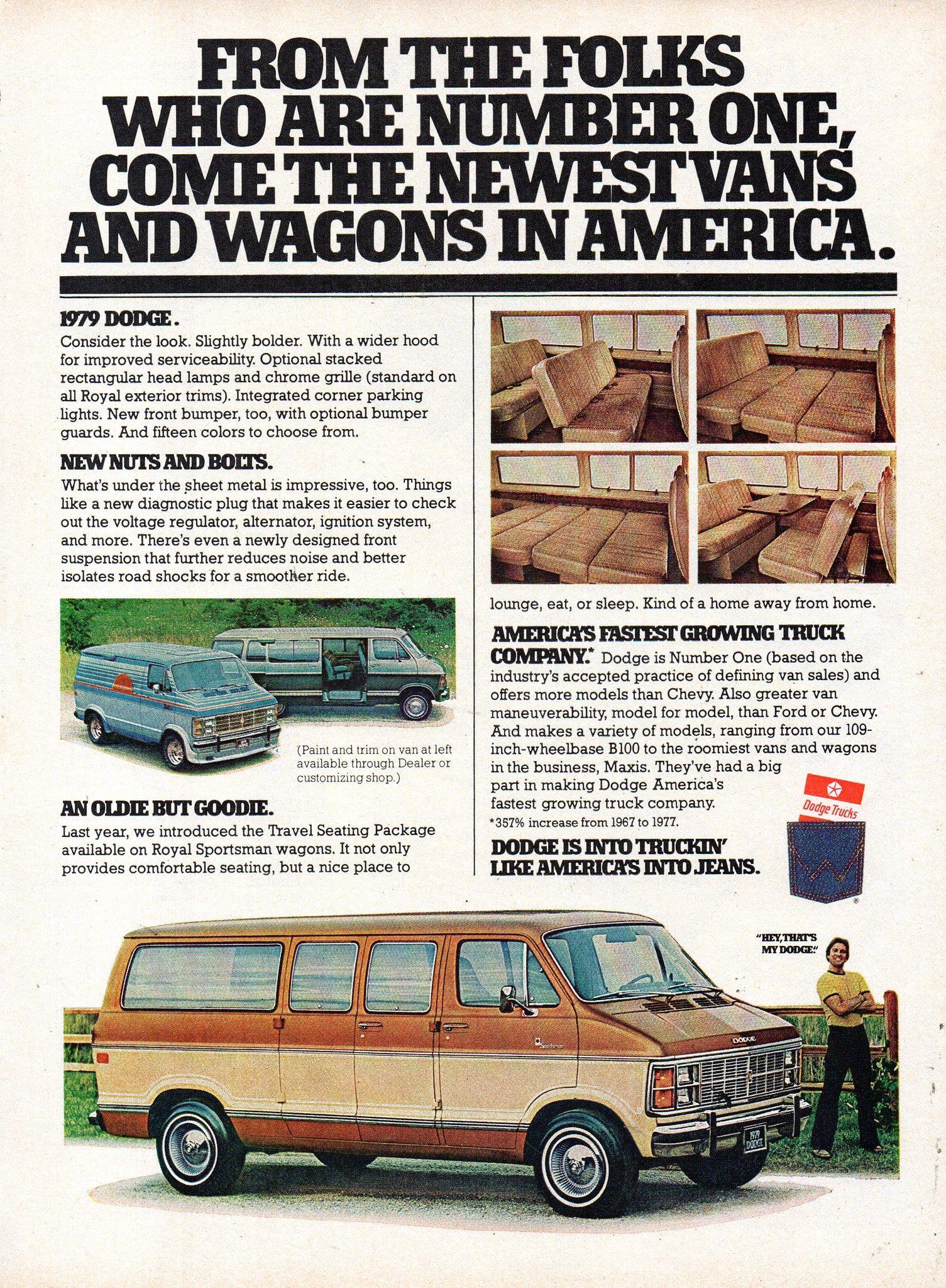 Ramcharger Ram Dakota Van Cargo 1989 Dodge Truck Original Sales Brochure