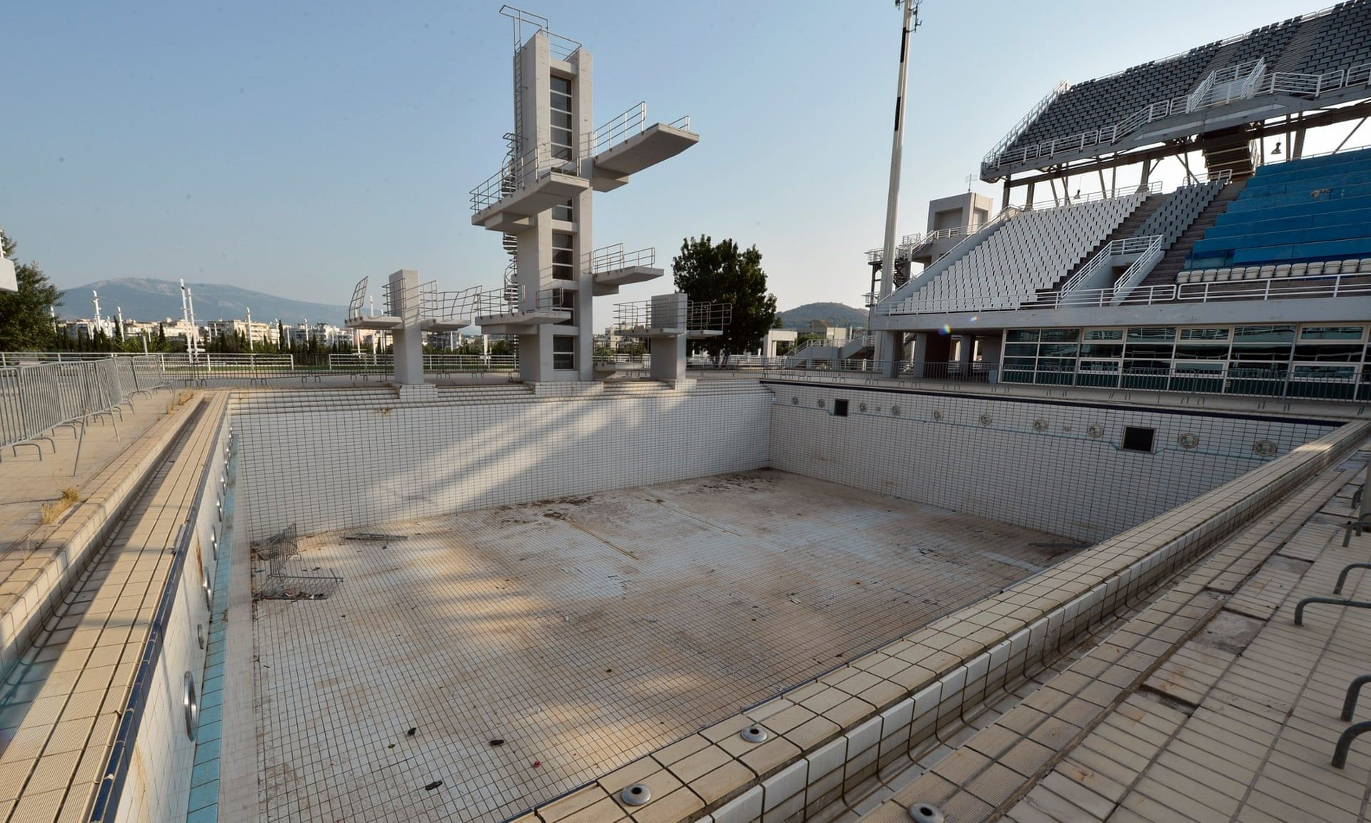 Abandoned Athens Olympic 2004 Venues 10 Years On In Pictures Olympic Venues Abandoned Places Abandoned