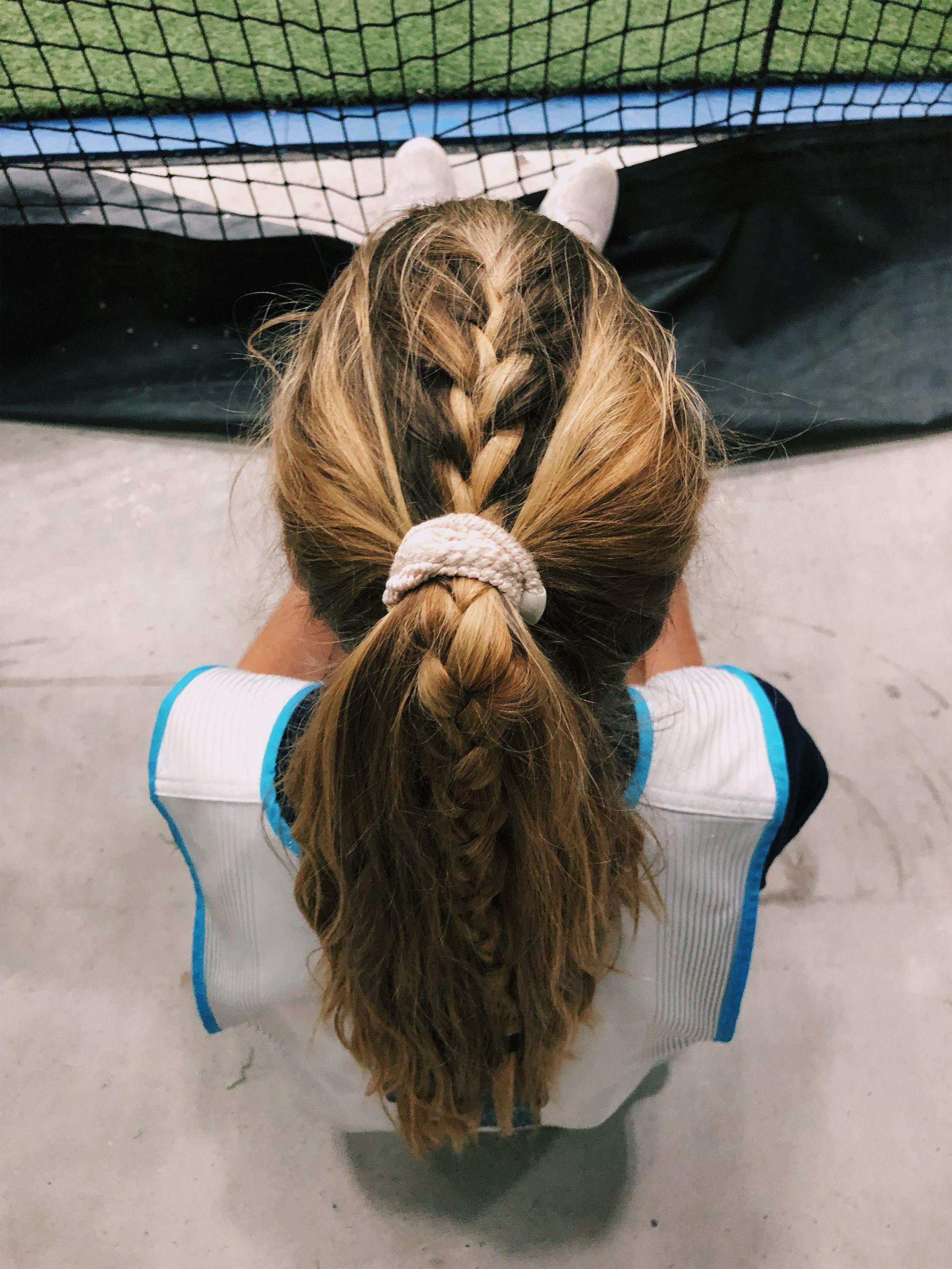 Hair Lacrosse Lax Braids Sports Love Stellnolann Soccer Hair Sports Hairstyles Sport Hair