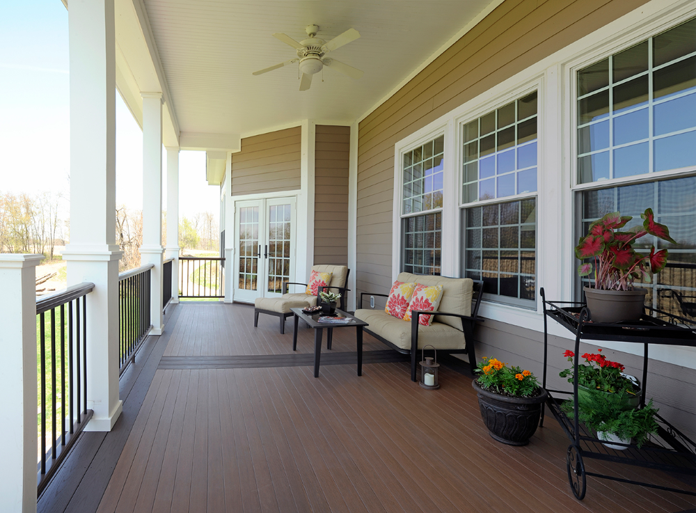 Azek Porch Board Google Search In 2020 Porch Flooring Porch Design Composite Deck Railing