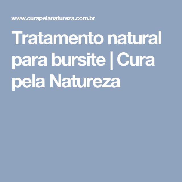 Tratamento natural para bursite   Cura pela Natureza
