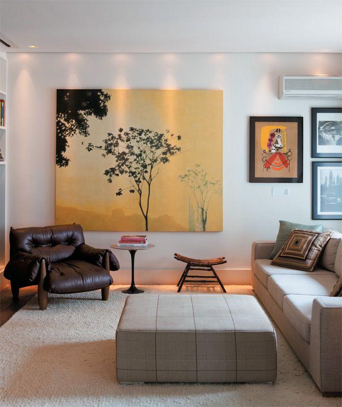 Tela Para Sala Sala De Estar De Casa Design De Casa Casa