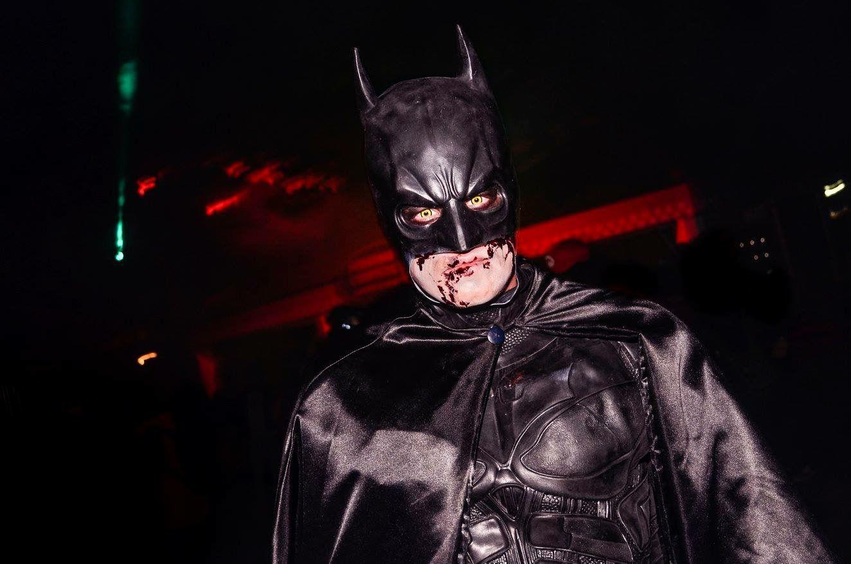 Halloween Fright Nights 2019 Walibi.Batman Make Up By Victoria Boo For Walibi Halloween Fright