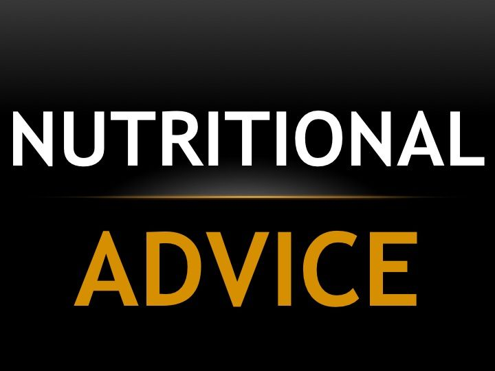 Help your body function at its best with correct nutrition.