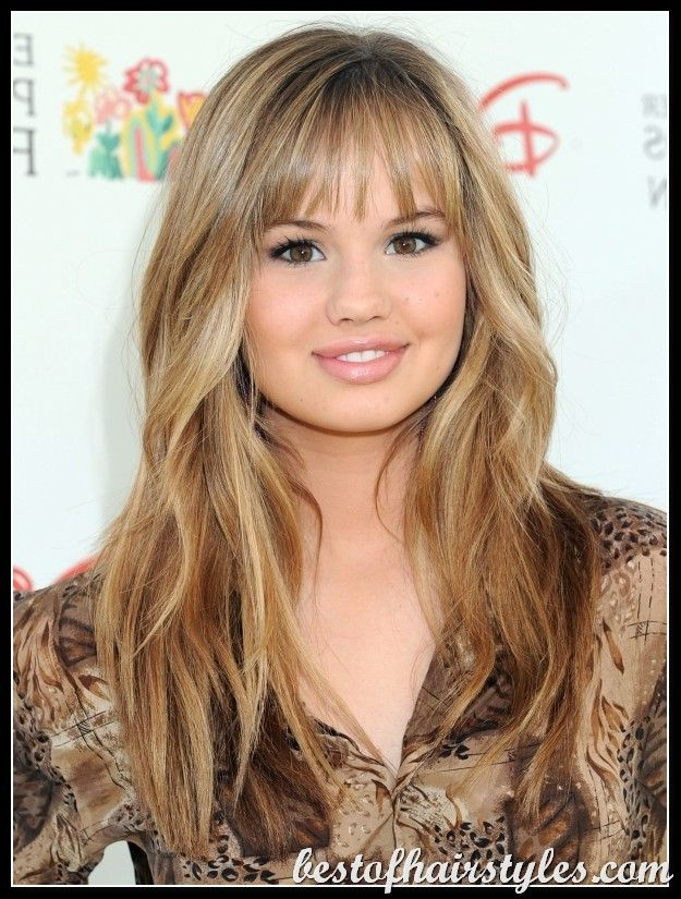 Girls Hairstyles 2012 Teenage Hairstyles Round Face Haircuts Long Hair With Bangs