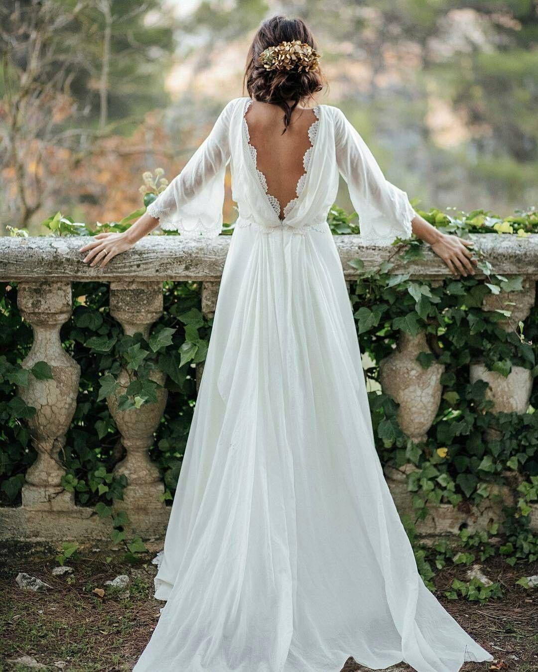 80 vestidos de noiva simples para você se apaixonar