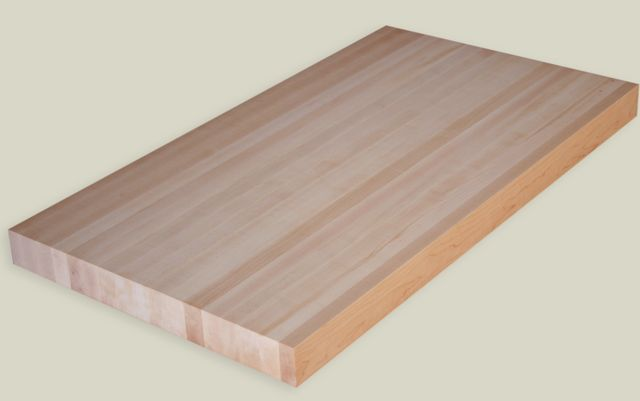 Attractive X Unfinished Maple Butcher Block Countertop