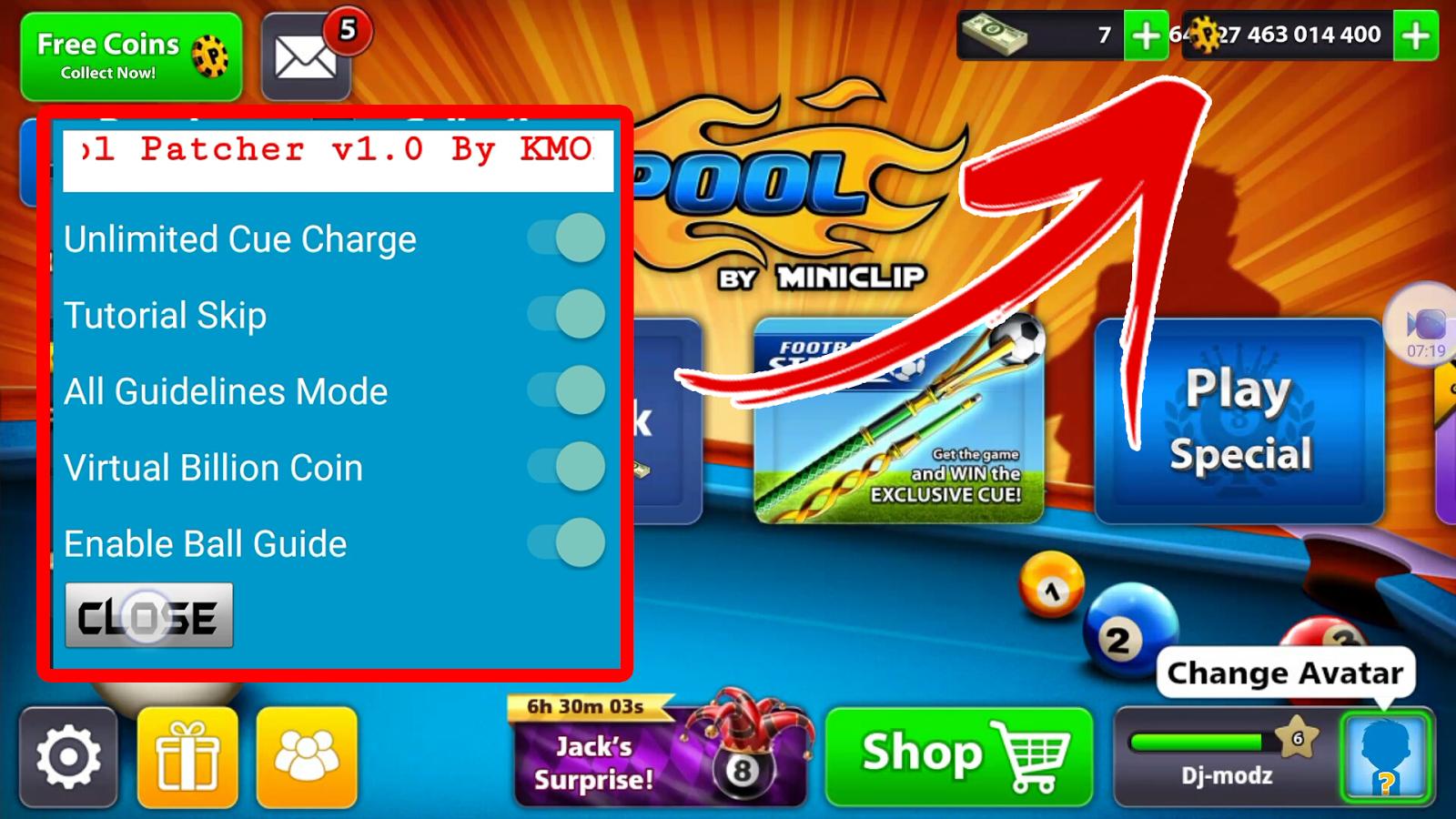 Screenshot 2017 09 28 16 31 31 592 Pool Coins Pool Hacks Pool Balls