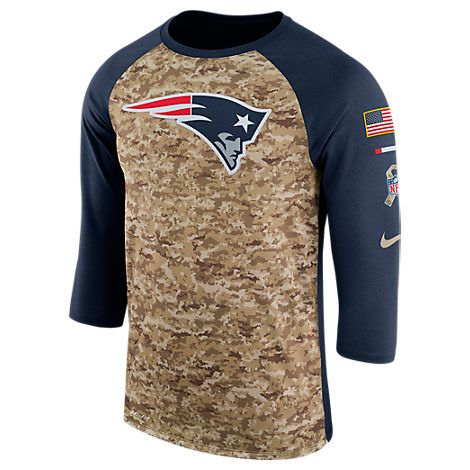 NFL Houston Texans Mens Raglan Team Logo Long Sleeve T-Shirt