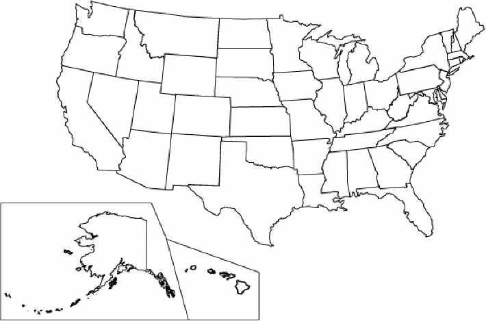 Us Colouring Pages Homeschool Social Studies Usa Map 3rd Grade