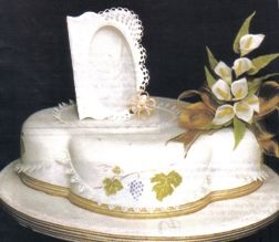 tortas de comunion elegantes