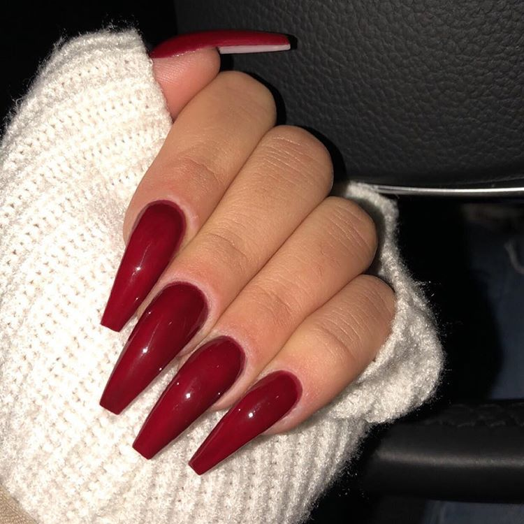 28 New Year's stylish Nails Design Ideas 2019 - Page 34 of 34 - Soflyme #longnails