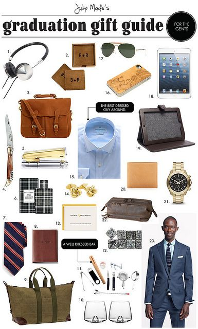 Julip Made Graduation Gift Guide For The Guys By Julip Made Via Flickr