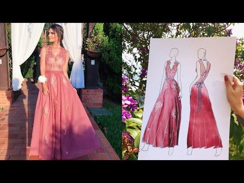 3e7bb6eeb 2) Como fazer seu Próprio Vestido de Festa - YouTube