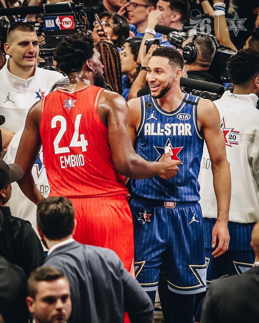 Philadelphia 76ers On Instagram All Love Ben Simmons Ben Simmons Jersey All Star