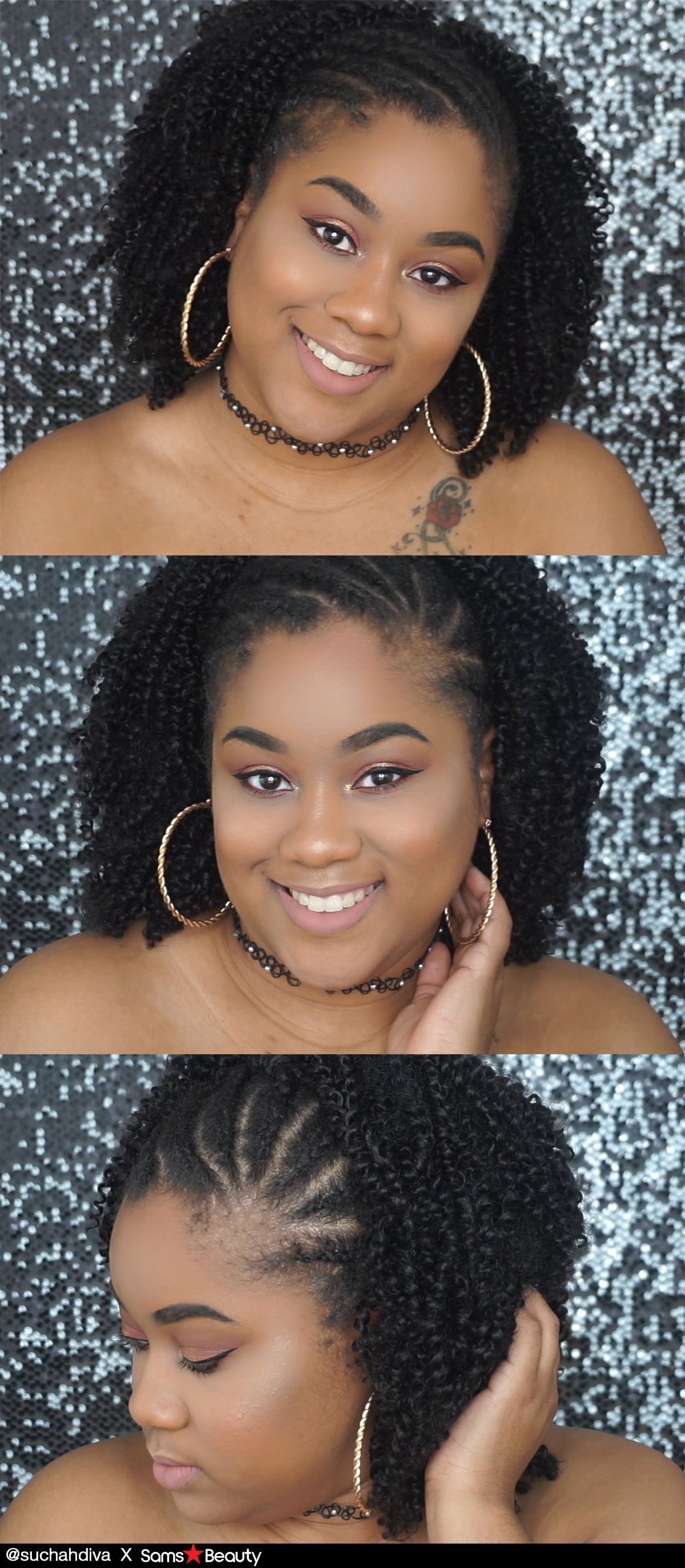Look at our girl suchahdiva outre synthetic hair crochet