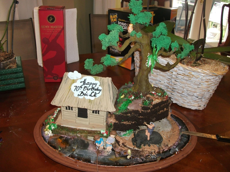 Bonsai Cake Tree!