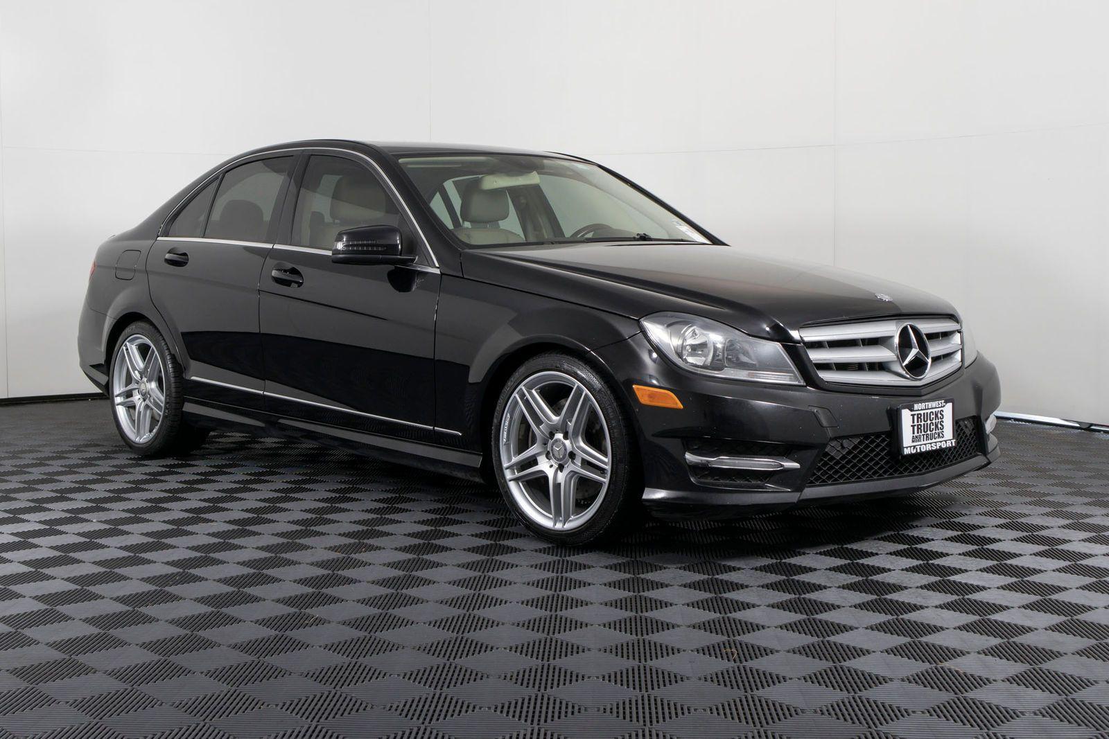 Used 2013 Mercedes Benz C300 4matic Awd Sedan For Sale Northwest