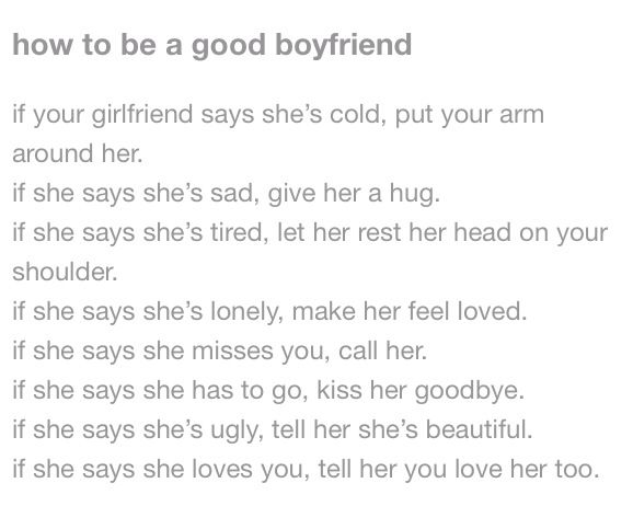 How To Be A Good Boyfriend Best Boyfriend Relationship Advice