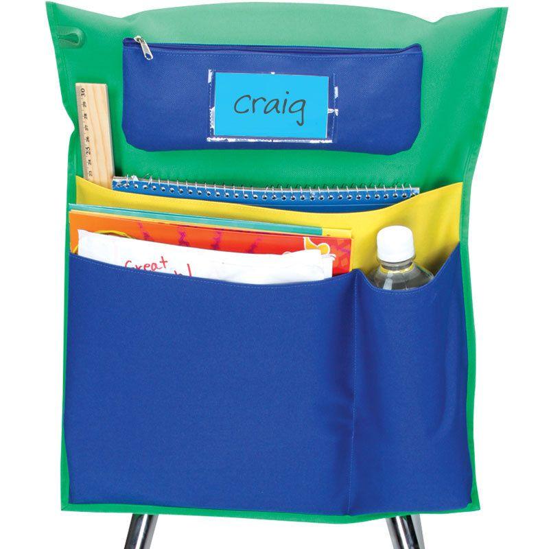 chair pocket   Chair pockets, Classroom storage, Sports ...