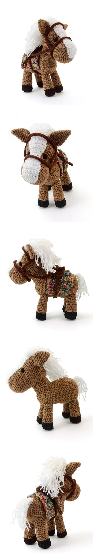 Hector The Horse - Crochet Amigurumi / by Lisa Jestes | Amigurumi ...