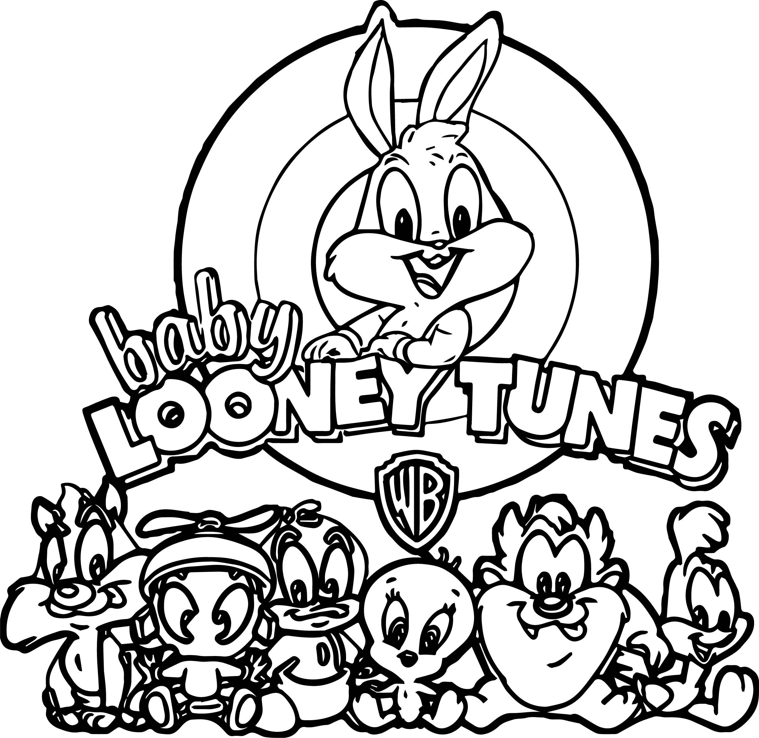 Baby Looney Tunes coloring pages on Coloring-Book.info | 2404x2474