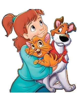 Oliver,Dodger & Jenny | Oliver and company, Disney ...