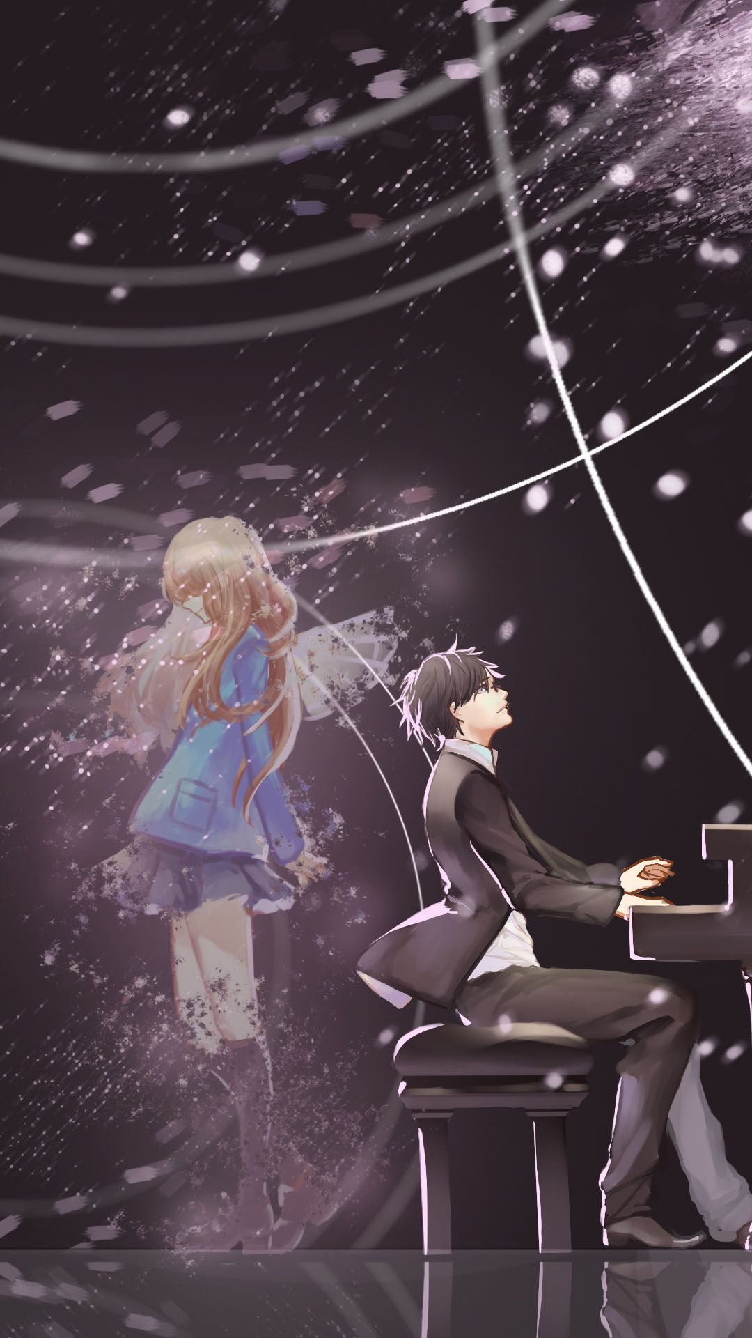 Anime Wallpapers Your Lie In April Romantic Anime Anime Romance