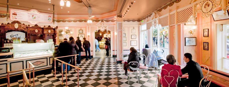 Disneyland Paris Restaurants   The Gibson Girl Ice Cream Parlour