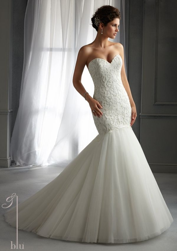 Bridal Dress From Blu By Mori Lee Dress Style 5272 Beaded ...