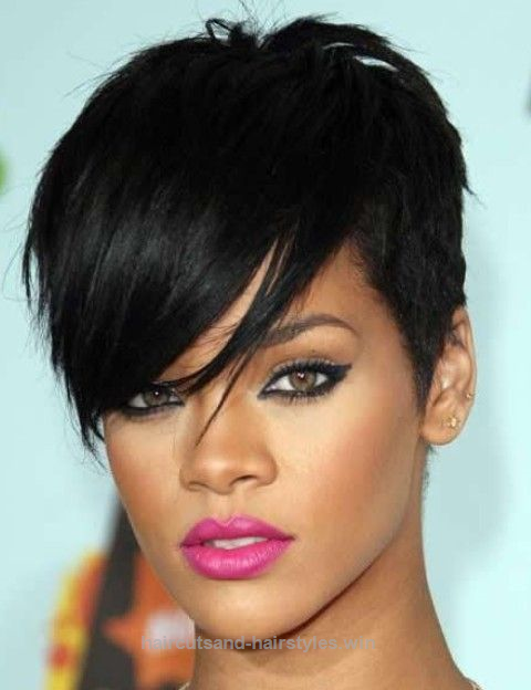 Rihanna Hairstyles Simple Rihanna Hairstyles Trendy Pixie Haircut  Pinterest  Rihanna