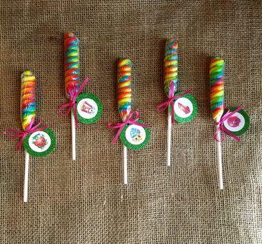 Shopkins Lollipop Twist - Party Favor - Shopkins Birthday Party - Goodie Bag -Set of 10