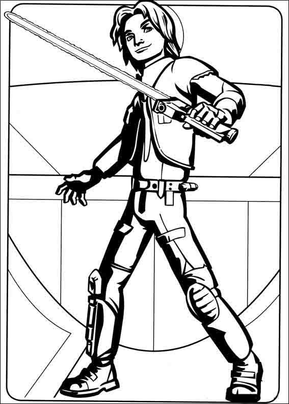 Star Wars Rebels Coloring Pages 9 | Coloring pages for kids | Pinterest