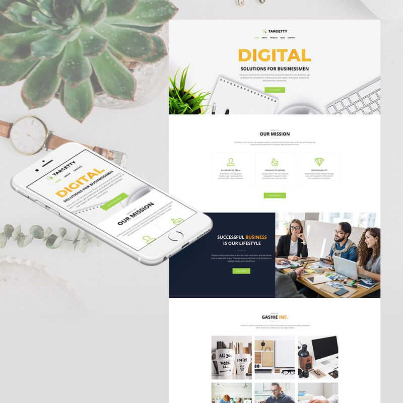 Advertising Agency Website Design for Business Promotion Sites