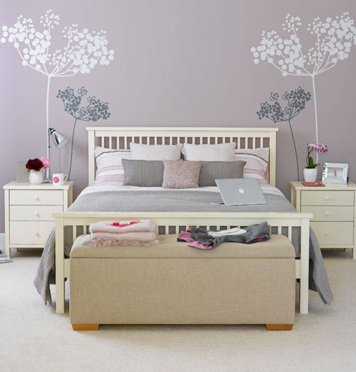 Arredamento per camera da letto moderna 24   comodino cemi 2 e ...